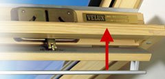 Locating the Velux Type Sign