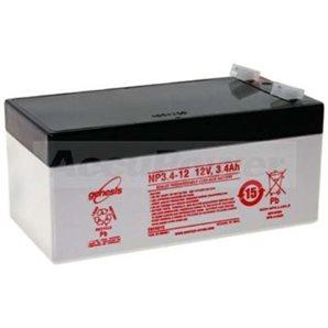 Smoke vent system battery