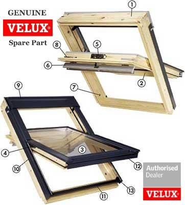 Velux Part Finder